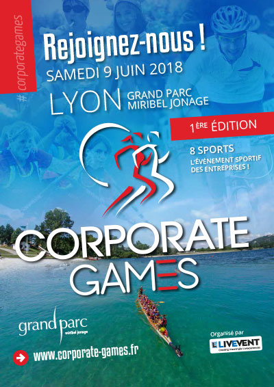 Corporate Games Lyon 2018