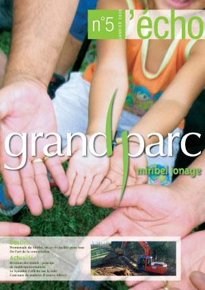 L'écho du Grand Parc N°5 (January 2008)