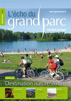 L'écho du Grand Parc N°8 (July 2010)