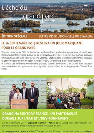 The digital Grand Parc Echo (Spéciale 19 Septembre 2017)