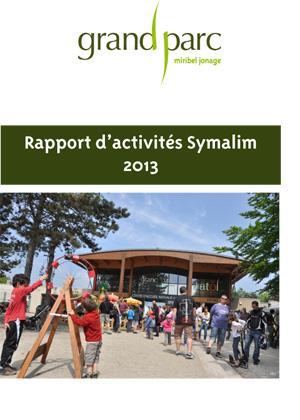 Rapport d'activités Symalim 2013