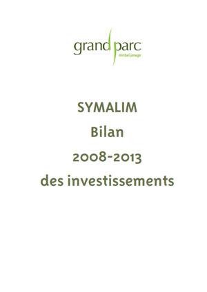 Investissements Symalim 2008-2013