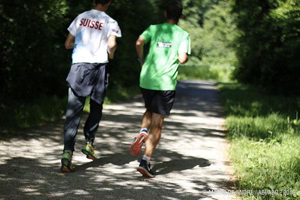 course à pied les 16 km des lacs parcours temporaire a lyon