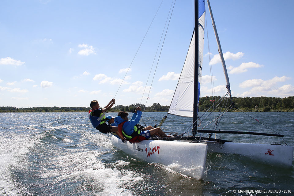 Cycle Voile Catamaran