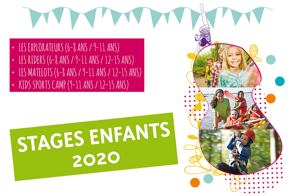 Stages Enfants Octobre 2020