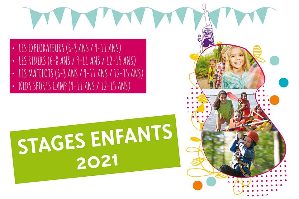 Stages Enfants Juillet-Août 2021
