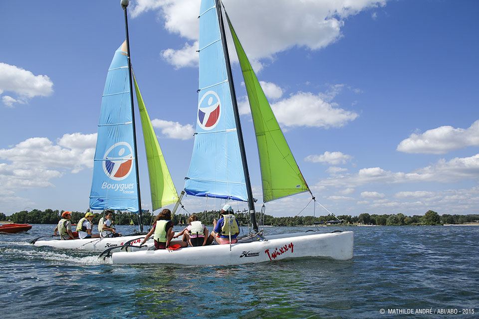 Voile, catamaran, optimist, FunBoard, Stand Up Paddle